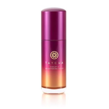 Tatcha just launched its Violet-C Brightening Serum, so your skin care routine is about to level-up