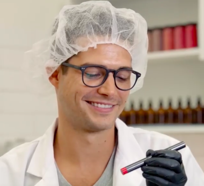 "Bite Beauty's ""Hot Guys Making Lipstick"" video series is the horny makeup content we need in 2019"