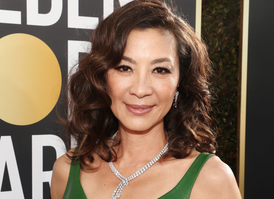 Bok bok, b*tch: Michelle Yeoh wore the <em>Crazy Rich Asians</em> ring to the 2019 Golden Globes
