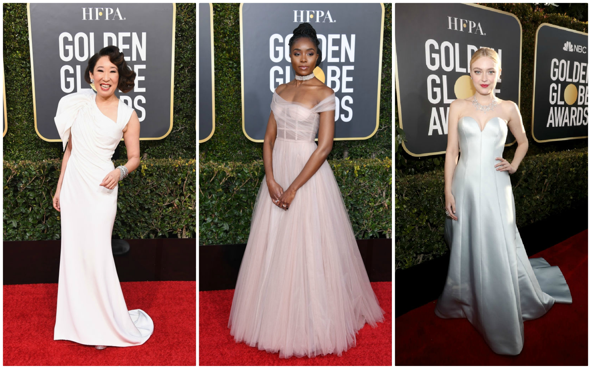 Attention brides: Check out these Golden Globes gowns for wedding dress inspiration