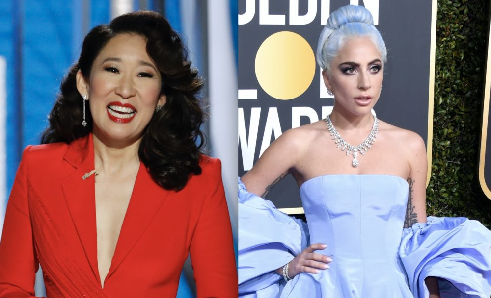 Sandra Oh roasted Lady Gaga at the 2019 Golden Globes—and Gaga's response was perfection