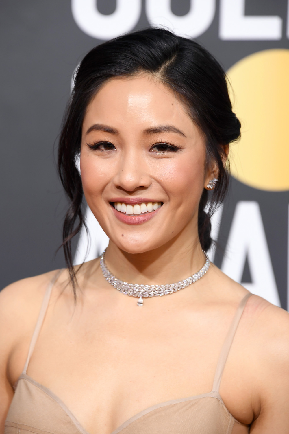 "Exclusive: How to copy Constance Wu's ""woodland fairy"" makeup look at the 2019 Golden Globes"