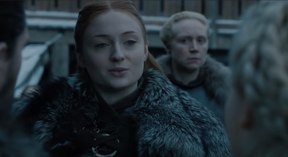 New footage from <em>GoT</em> Season 8 is here, and you can cut the tension between Sansa and Dany with a knife