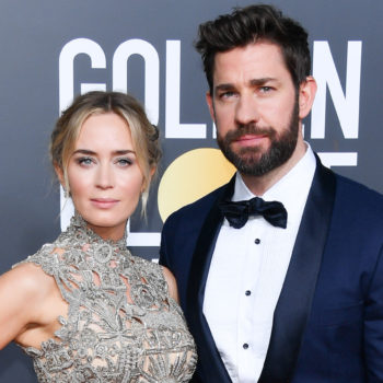 John Krasinski was Emily Blunt's biggest fan at the 2019 Golden Globes, and there are memes to prove it