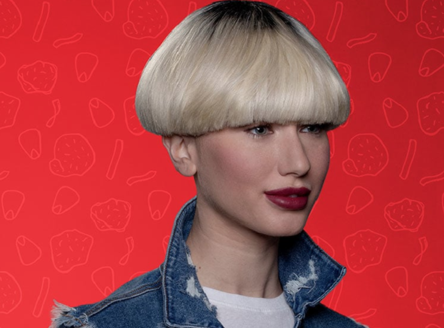 KFC is giving away free bowl haircuts to celebrate its new Spicy Famous Bowl