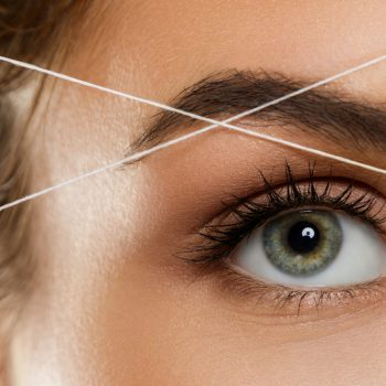Everything to know about eyebrow threading, and why you should try it at least once