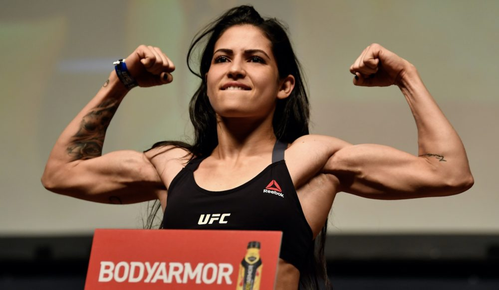 Polyana Viana, a female UFC fighter, took down a man who tried to rob her on the street