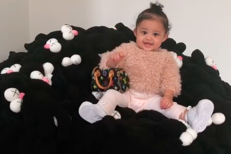 Kim Kardashian bought all the baby girls in her family tiny Louis Vuitton bags, and adopt us?