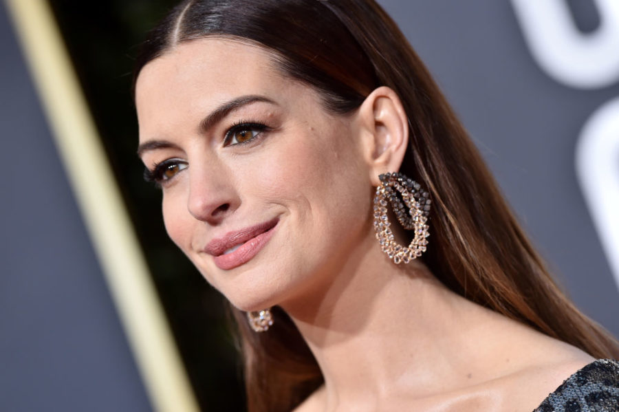 Anne Hathaway deals with stress by setting negative thoughts on fire—literally