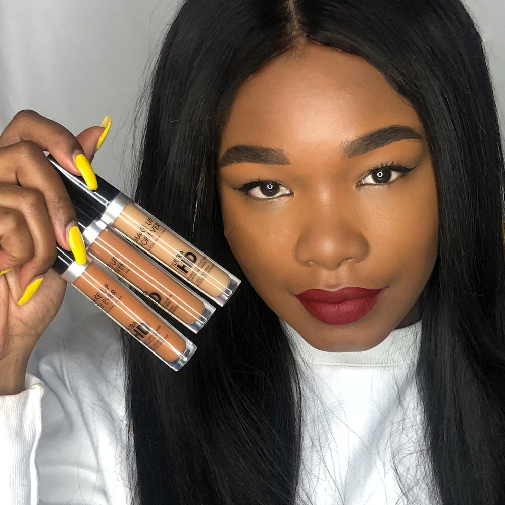 I tried a new concealer that promises to set itself without powder