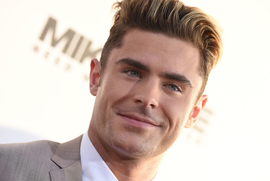Zac Efron took a cue from Pete Davidson and dyed his hair platinum blonde