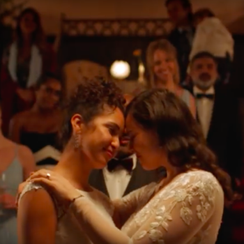 David's Bridal featured a same-sex couple in an ad for the first time, and we have heart eyes