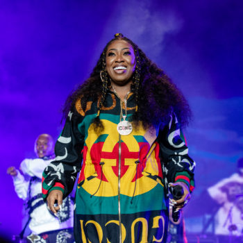 Missy Elliott is the first female rapper to get this major honor, and it's huge
