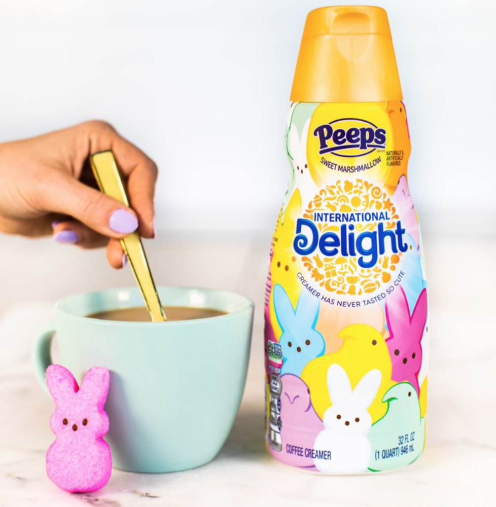 Peeps creamer is here to make your coffee more festive this Easter