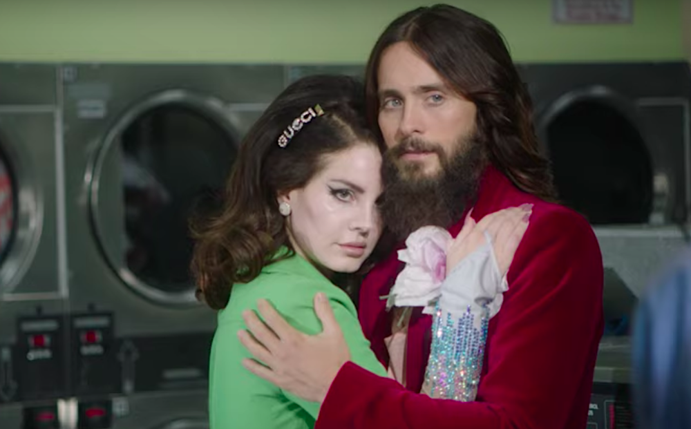 Lana Del Rey and Jared Leto run wild in a supermarket for Gucci's new fragrance campaign