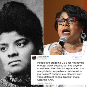 Black people ARE interested in journalism and our reporting is critical to American history, no matter what that viral tweet says