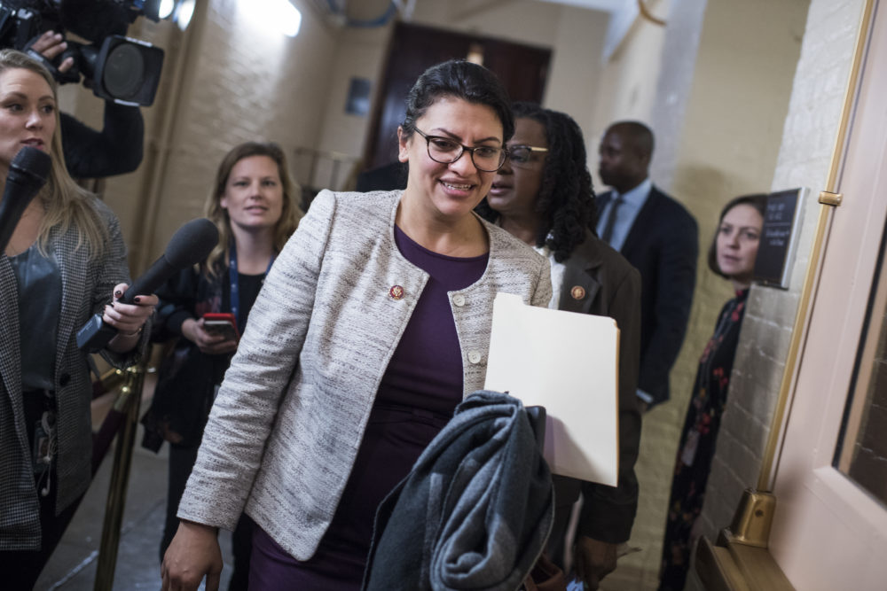 "A Florida official said that Rashida Tlaib—one of the first Muslim women in Congress—might ""blow up the White house"""