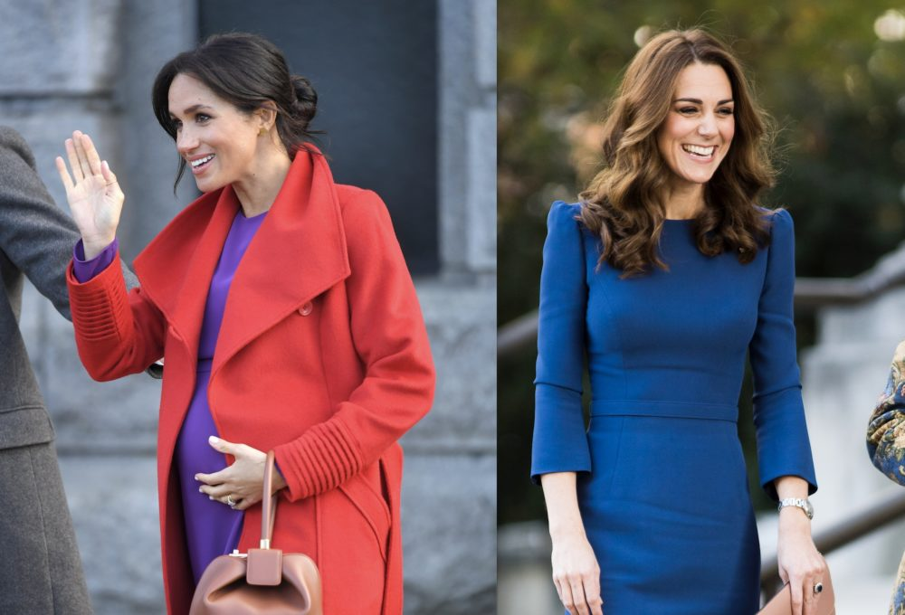 So this is why Meghan Markle and Kate Middleton hold their handbags in their left hands