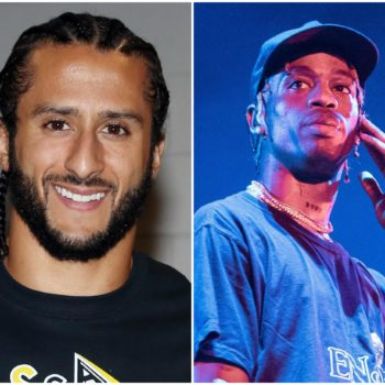 Turns out Colin Kaepernick doesn't actually support Travis Scott's upcoming Super Bowl performance