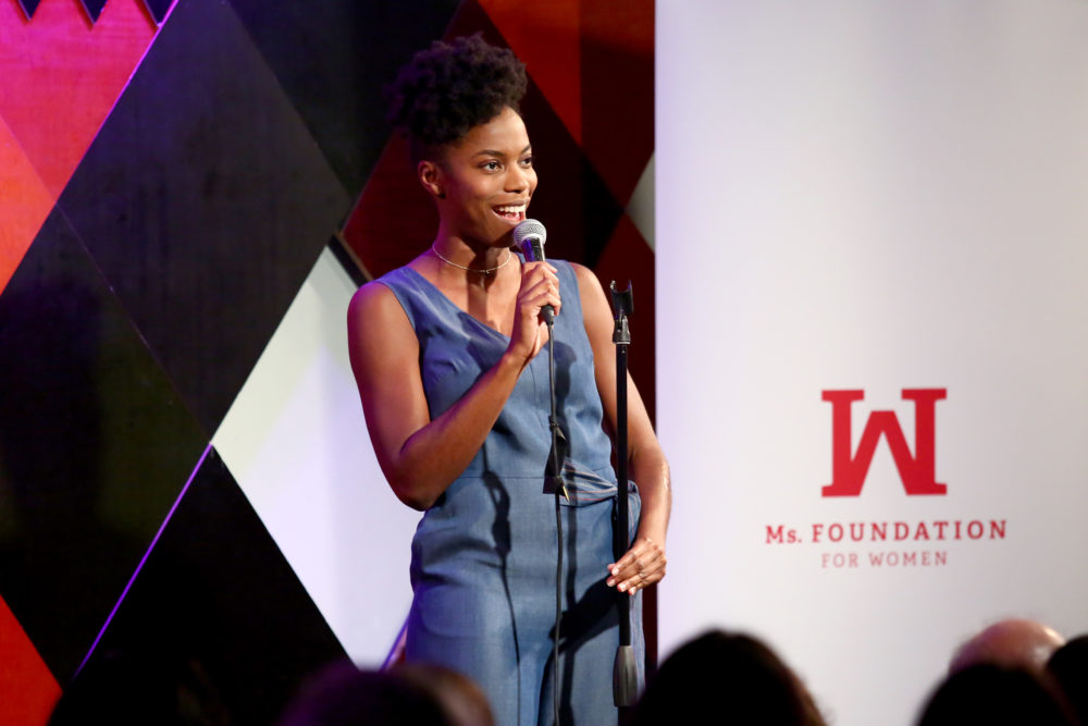 Former <em>SNL</em> star Sasheer Zamata clapped back at Louis C.K.'s horrible Parkland joke in her recent standup set