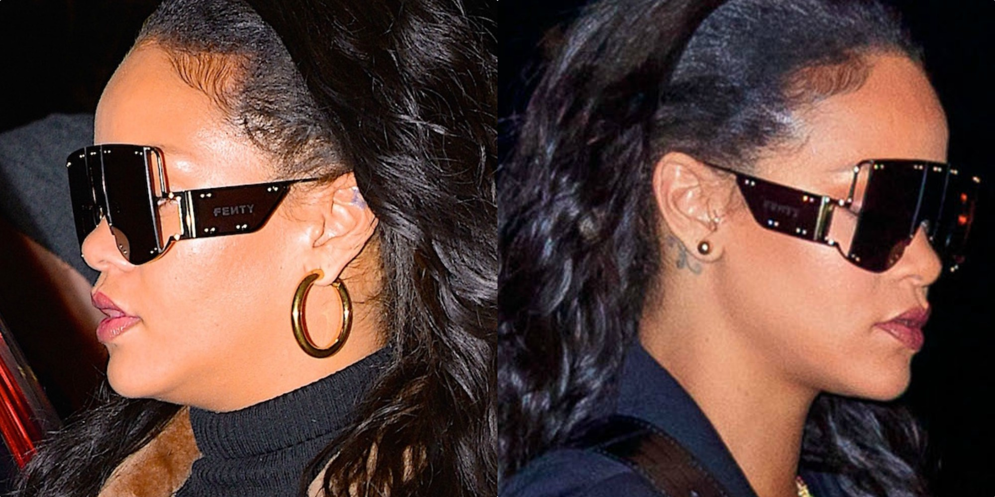 406a8c1154 Robert Kamau/GC Images/Jackson Lee/GC Images. And while the glasses Rihanna's  wearing ...