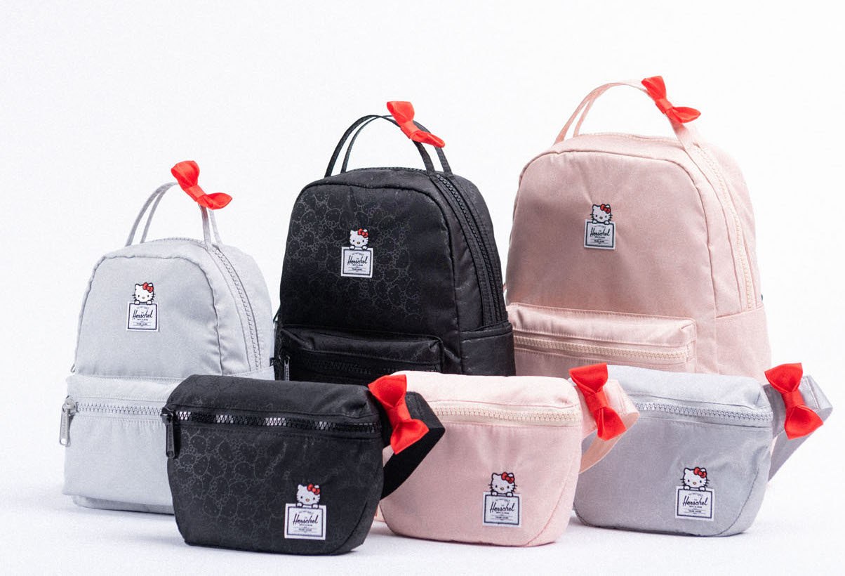 This Hello Kitty x Herschel Supply collab is convincing us to trade our purses for fanny packs