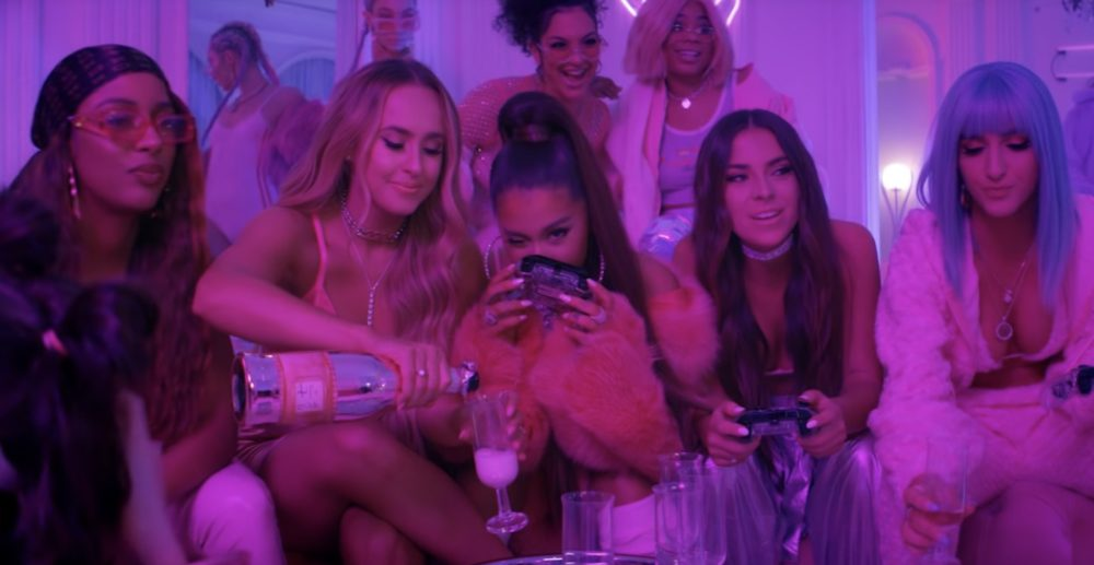 "Who are the friends in Ariana Grande's ""7 Rings"" video? We looked into it"