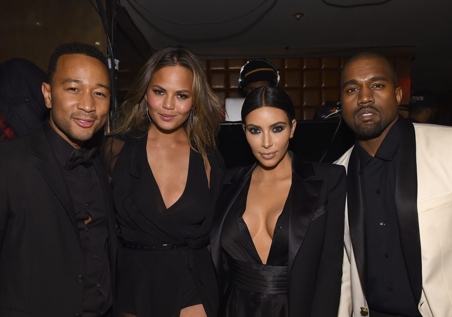 Chrissy Teigen dished about the major fight she had with John Legend at Kim and Kanye's wedding