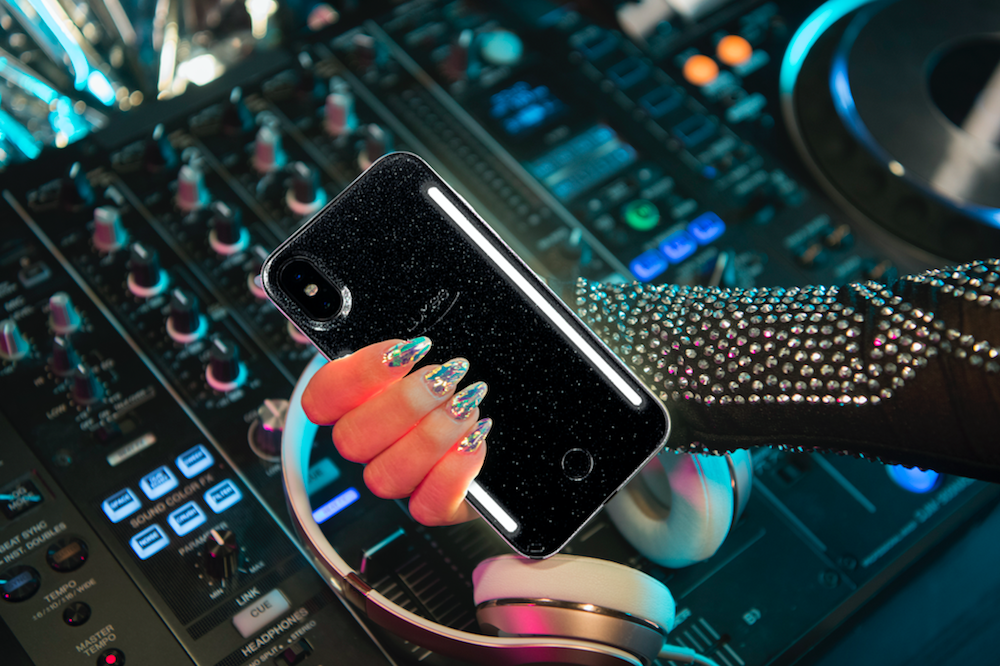 This light-up phone case syncs and flashes to your music, so any situation can be turned into a rave