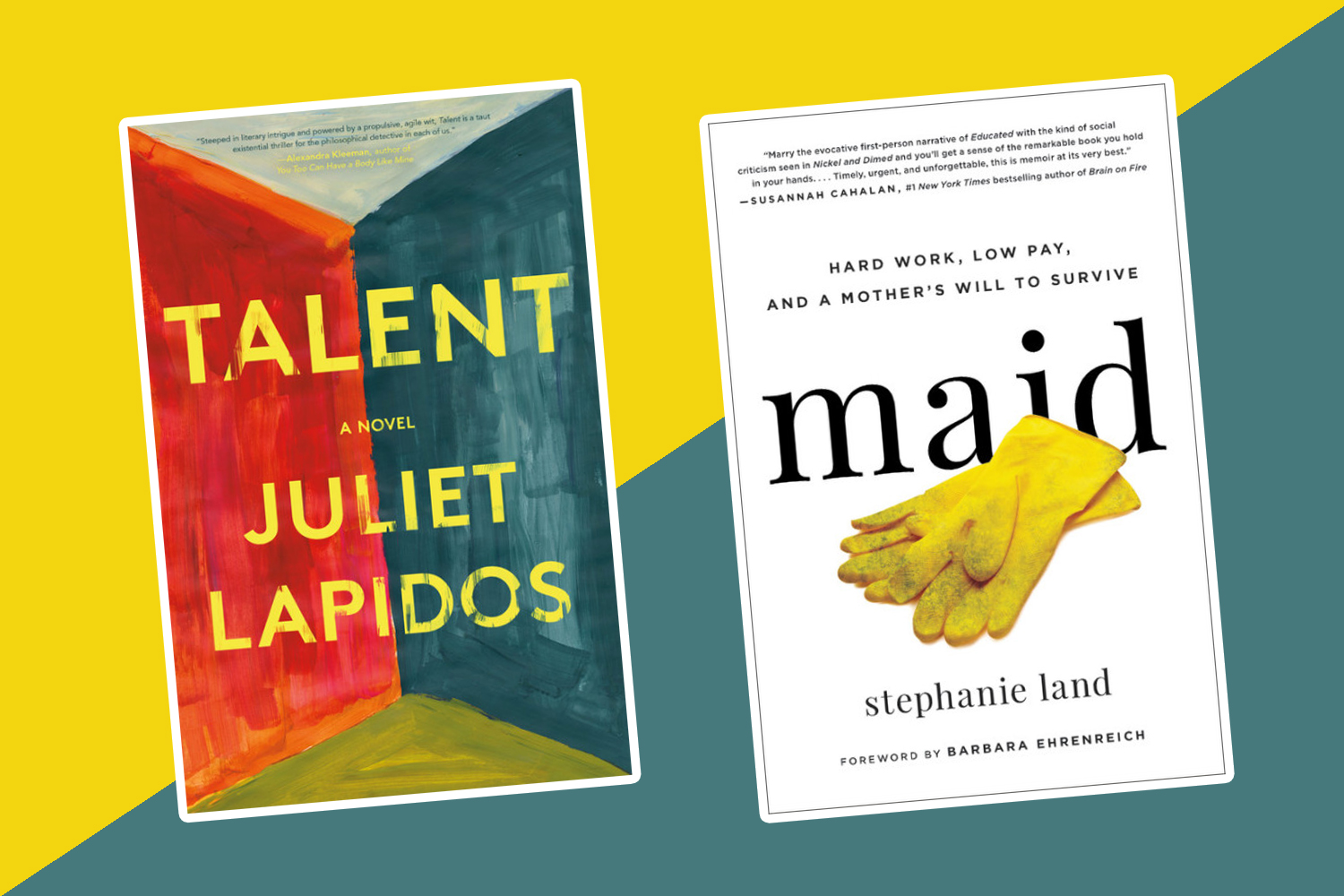 The best new books to read this week: <em>Talent,</em> <em>Maid,</em> and more