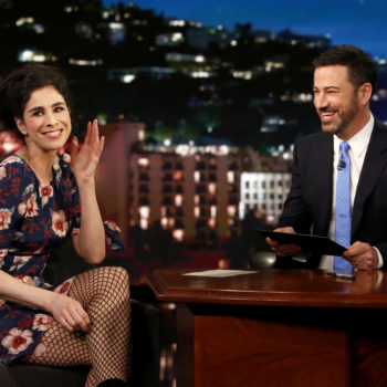 "Jimmy Kimmel opened up about his friendship with Sarah Silverman: ""It took some time"""