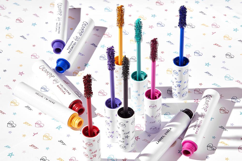 ColourPop is entering the mascara world—with seven new products
