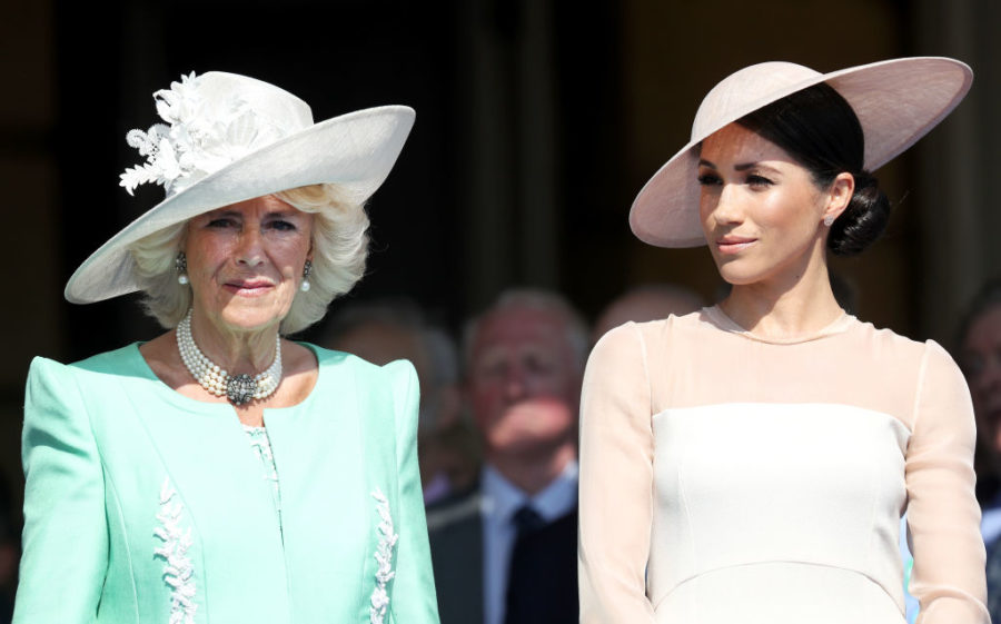 Even Camilla Parker Bowles is taking style inspiration from Meghan Markle