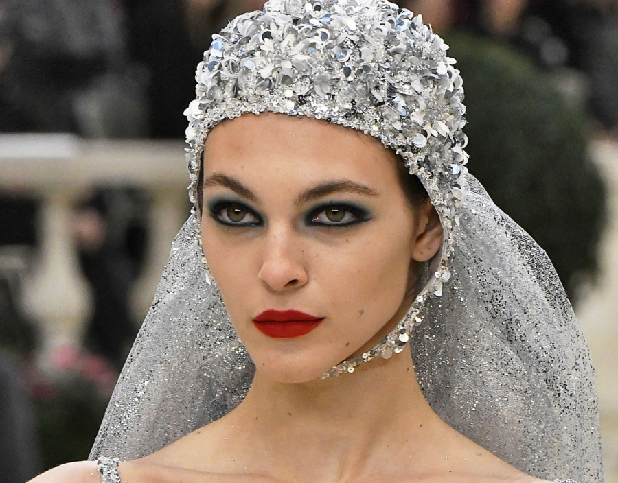 Chanel debuted a luxe swimsuit wedding dress, because #fashun