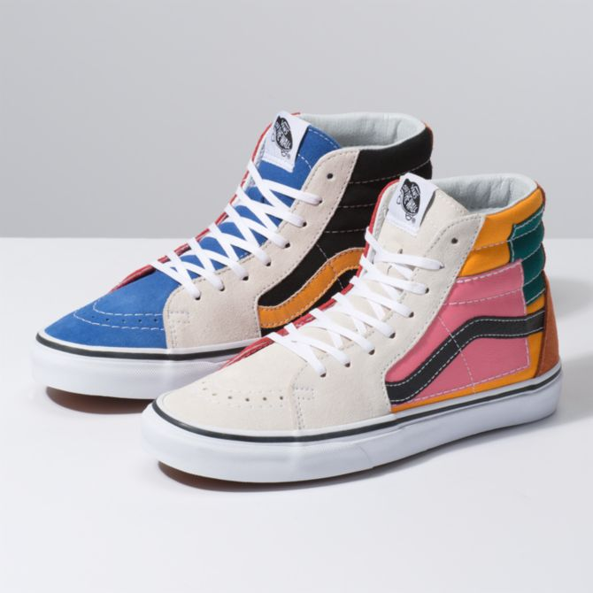 a9709b84438b8f Vans Launches  70s Inspired Patchwork Sneaker Collection - HelloGiggles