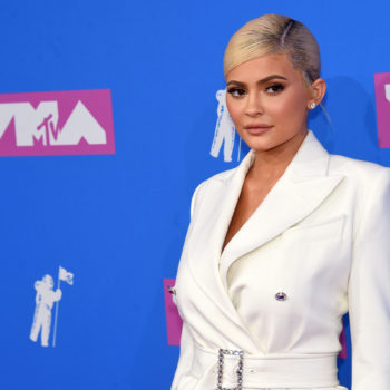 Kylie Jenner debuted red hair in a new Kylie Cosmetics ad, was born for this look