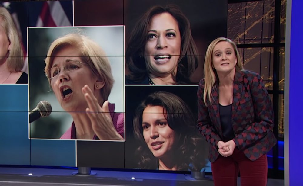 Every single human should watch this video of Samantha Bee breaking down sexism and female political candidates