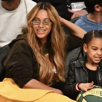 This side-by-side of Beyoncé and Blue Ivy at age 7 proves they are identical twins