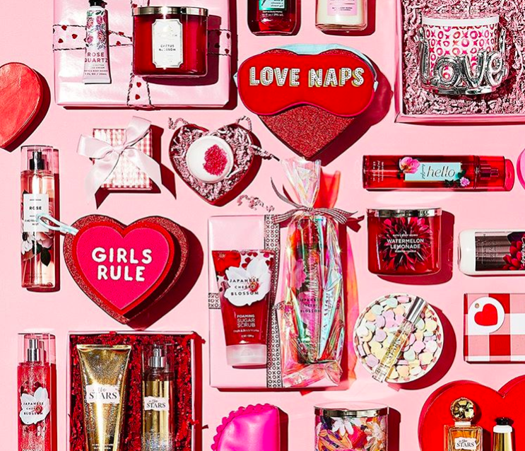Bath & Body Works' massive Valentine's Day collection includes a whopping 300 products