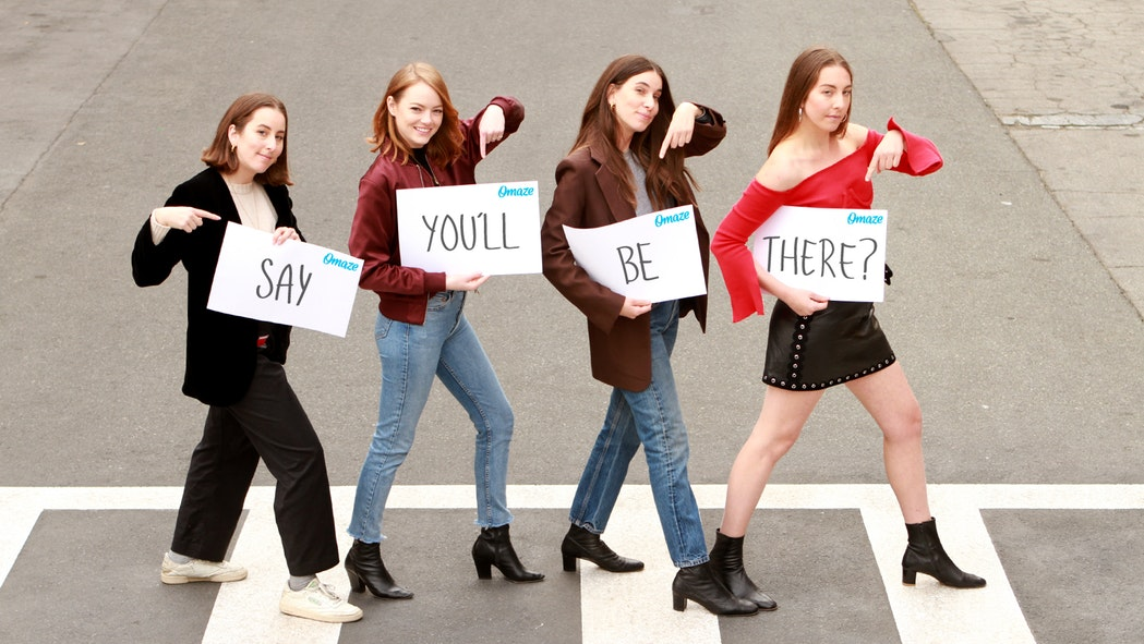 Emma Stone and Haim recreated this iconic Spice Girls video, and there's so much to love