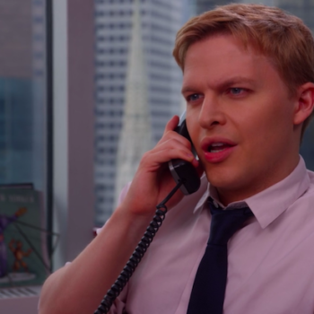Ronan Farrow made a cameo on <em>Unbreakable Kimmy Schmidt</em>—and donated his appearance fee to RAINN