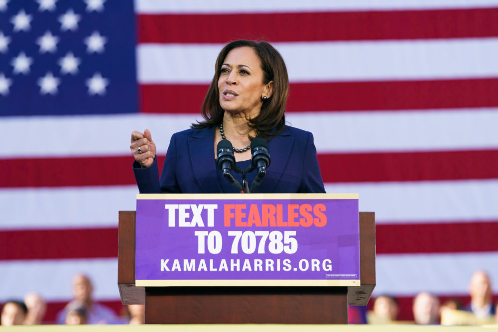 Kamala Harris called out the Trump administration so hard at yesterday's rally