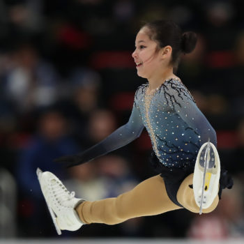 13-year-old Alysa Liu just became the youngest U.S. women's figure skating champ ever, and her reaction is everything