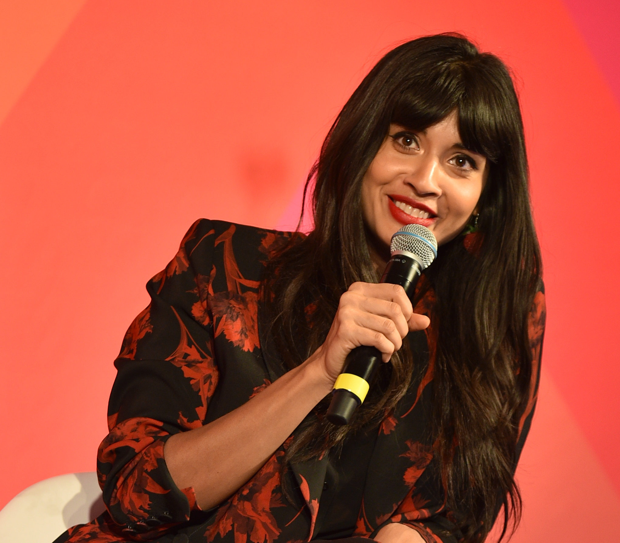 "Jameela Jamil explained why she calls herself a ""feminist-in-progress"""