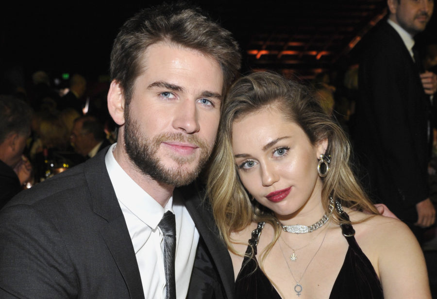Liam Hemsworth called Miley Cyrus his wife for the first time in public, and her reaction was priceless