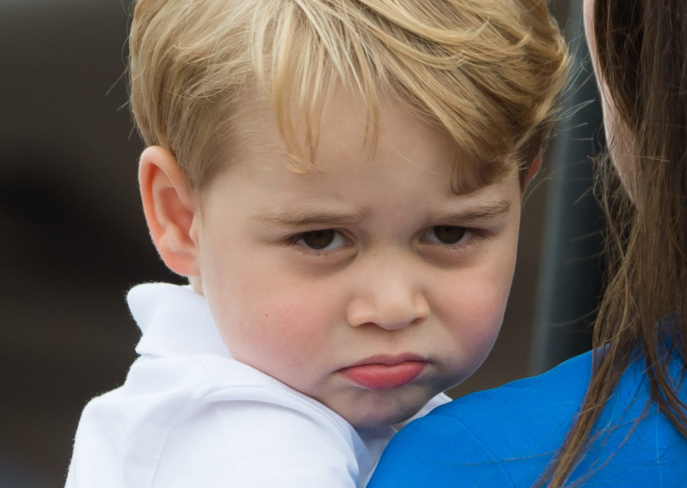 Prince George is apparently telling people his name is Archie, and we have questions