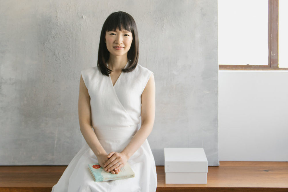 Marie Kondo told us about her sweet daily ritual with her children and the items in her home that spark joy