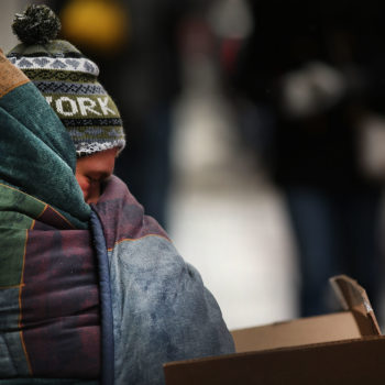 Here's how you can help homeless people during the dangerously cold temperatures around the country right now