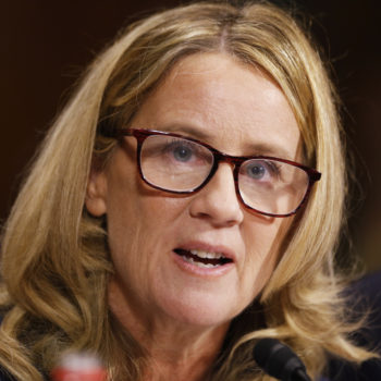 Christine Blasey Ford has been nominated for a major—and deserved—honor