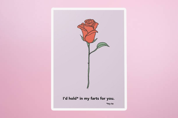 Give one of these Valentine's Day cards if you're in an *undefined* relationship
